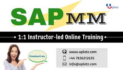 SAP MM - Online Event online course and certification