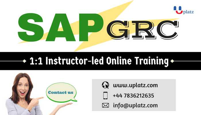 SAP GRC Training online course and certification