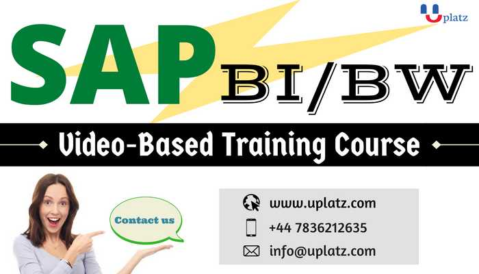 SAP BW online course and certification