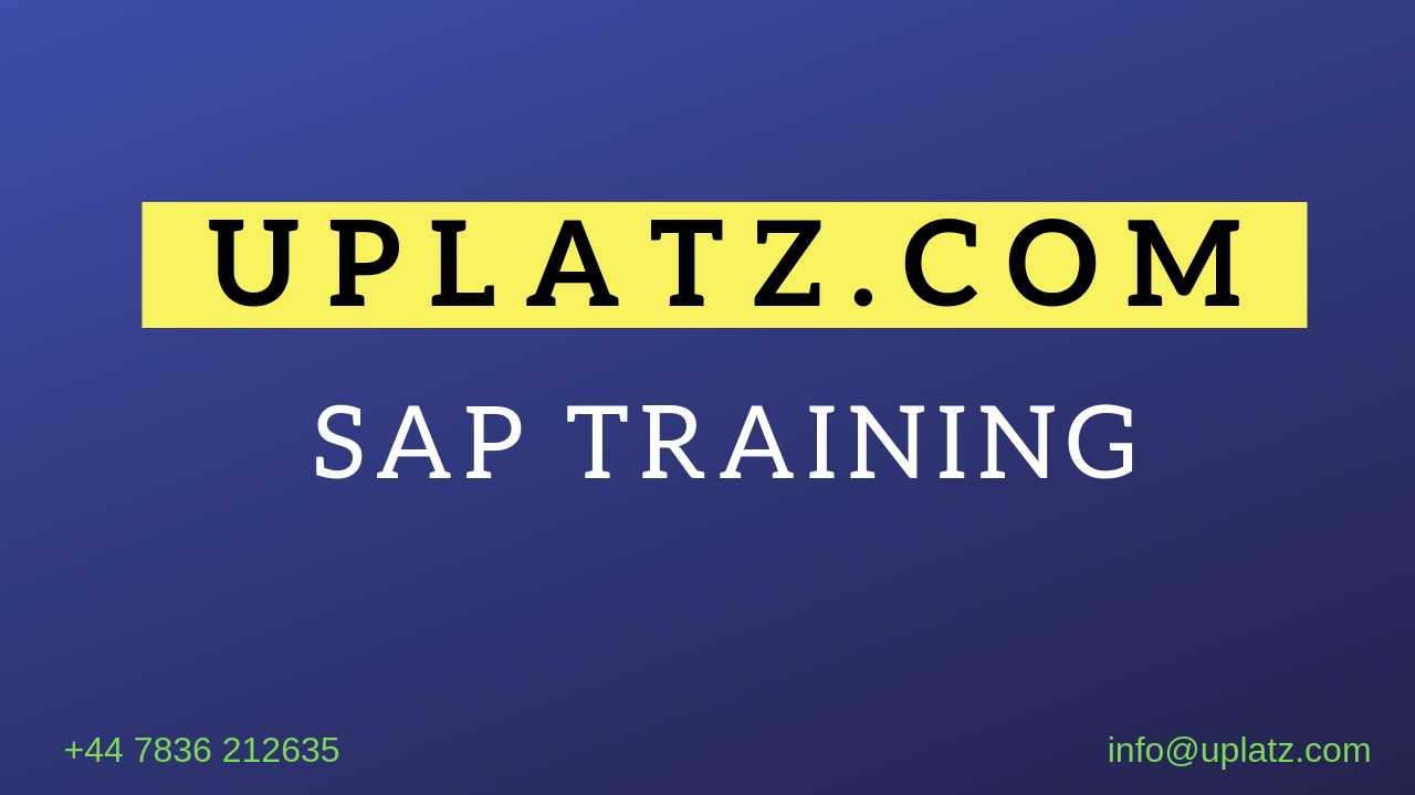 Sap Bpc Bibw Training Certification Sap Bpc Bibw Online