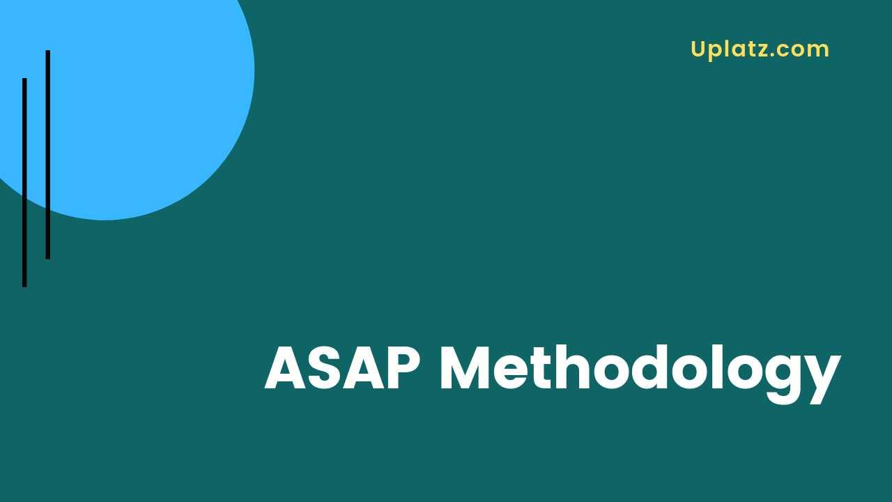Video: ASAP Methodology