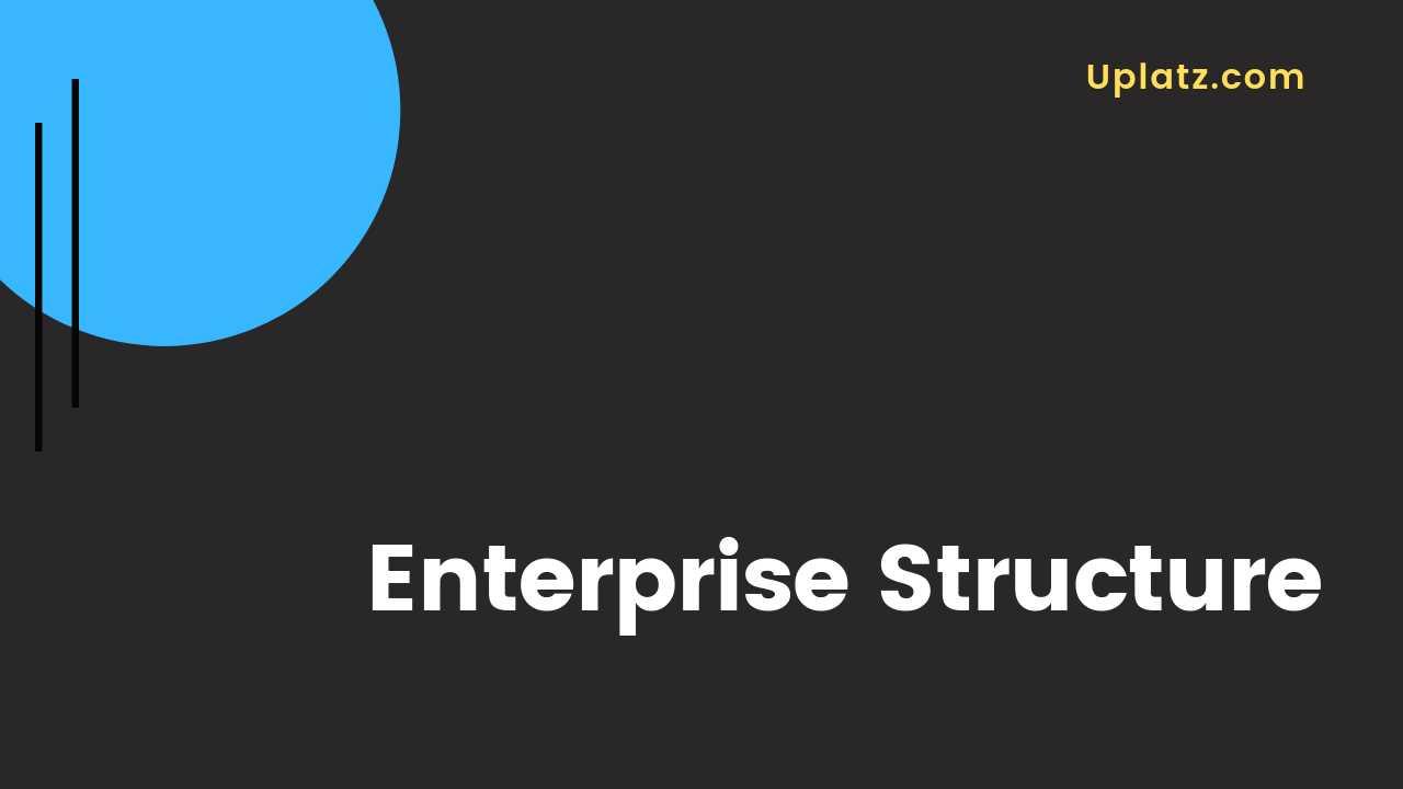 Video: Enterprise Structure