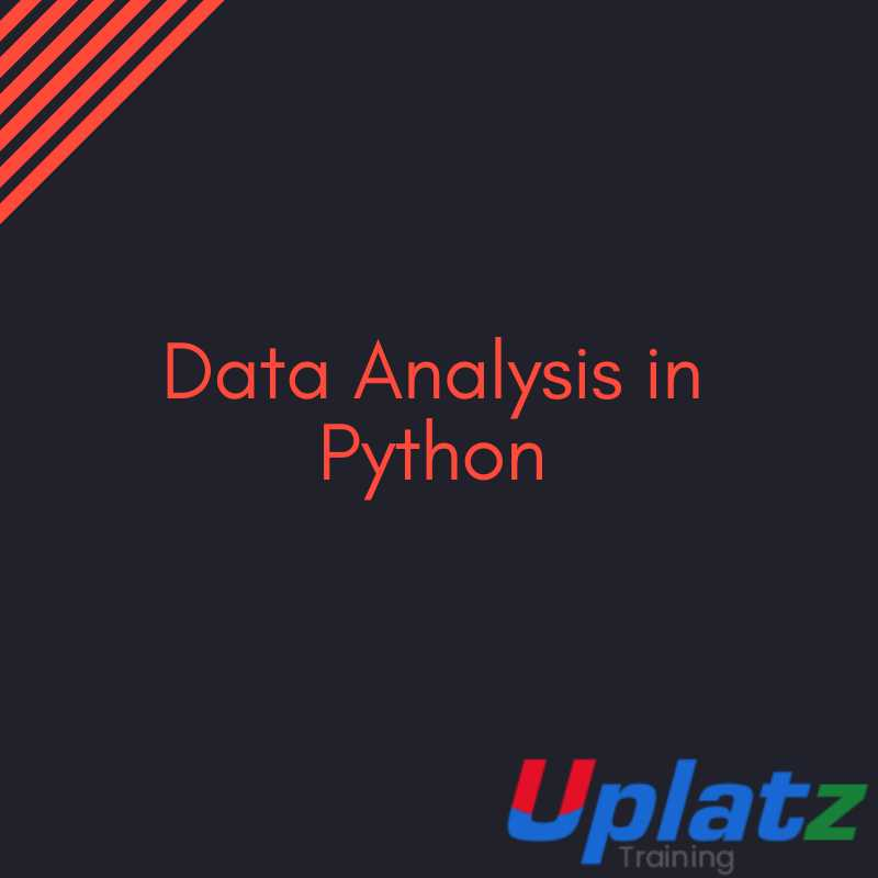Data Analysis In Python Training & Certification Course