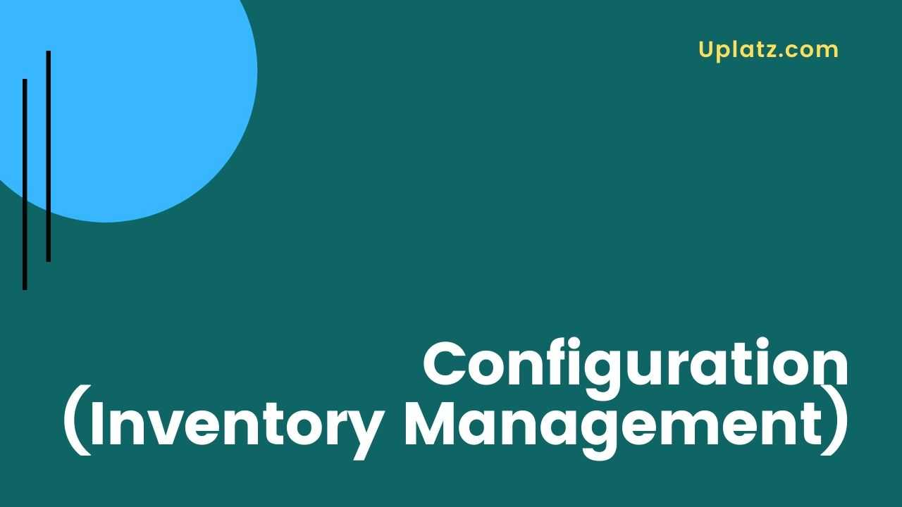 Video: Inventory Management