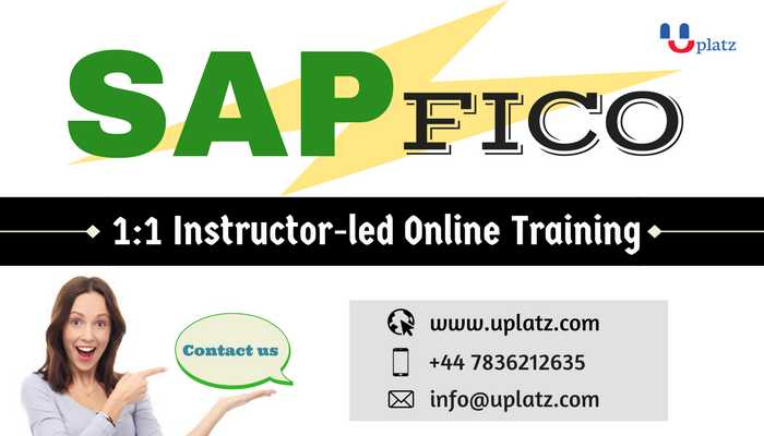 sap fico consultant online course and certification