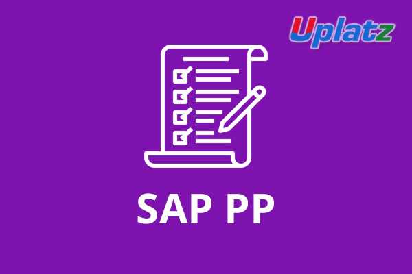 SAP PP (Production Planning)