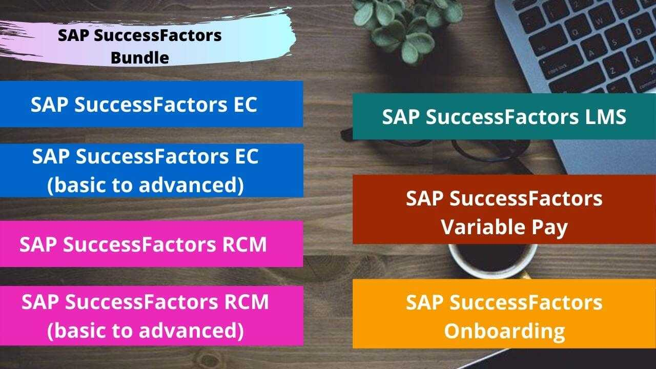Bundle Course - SAP SuccessFactors