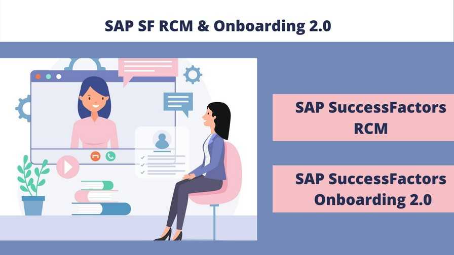 Bundle Course - SAP SF Recruiting (RCM) and Onboarding