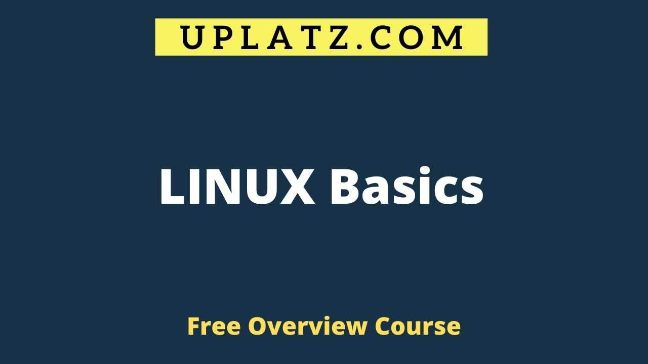 Overview Course - Linux