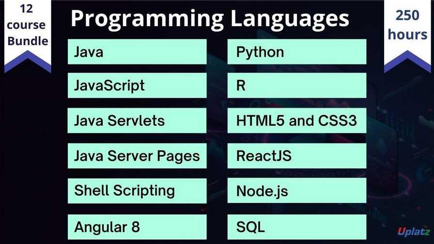 Bundle Course - Programming Languages
