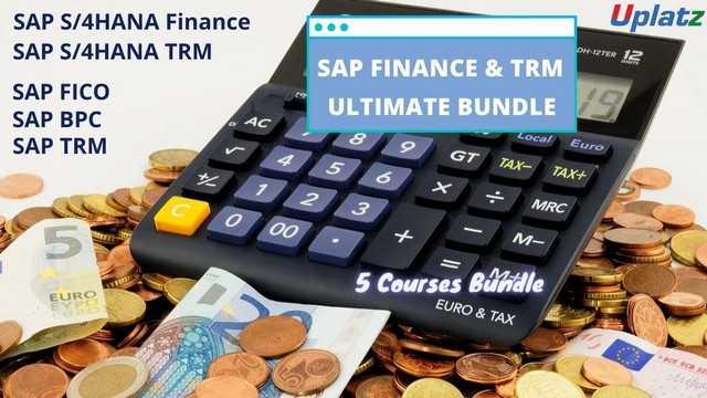 Bundle Ultimate - SAP Finance and SAP TRM (FICO - BPC - TRM - S/4HANA Finance - S/4HANA TRM)