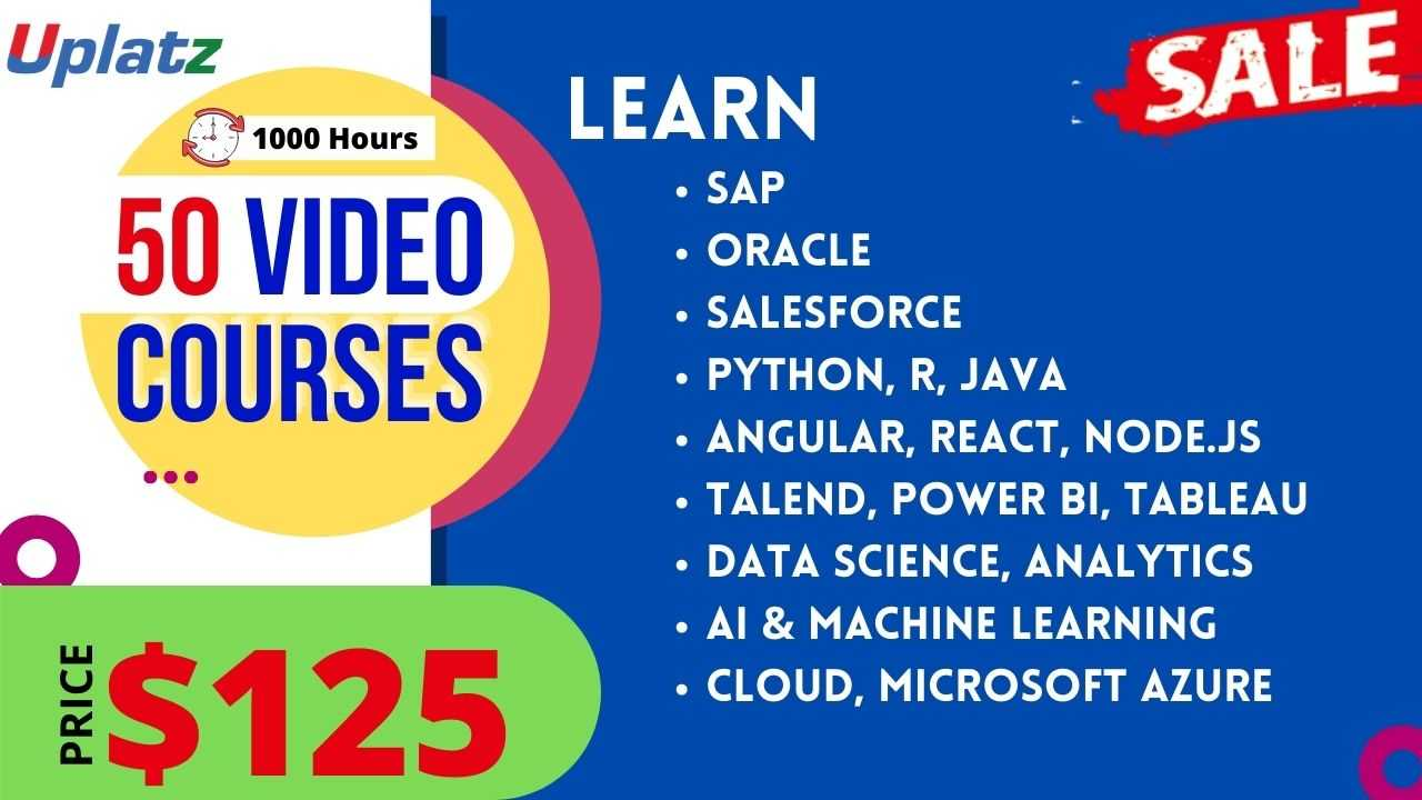 Festive Sale - Any 50 Video Courses with Lifetime Access