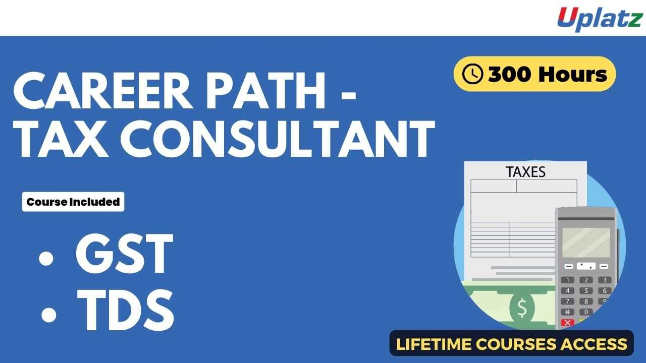 Career Path - Tax Consultant
