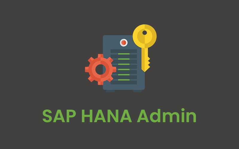 SAP HANA Admin