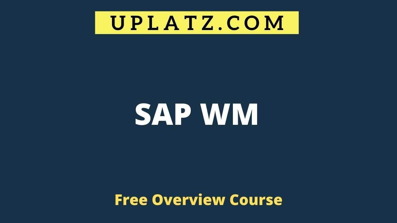 SAP WM overview