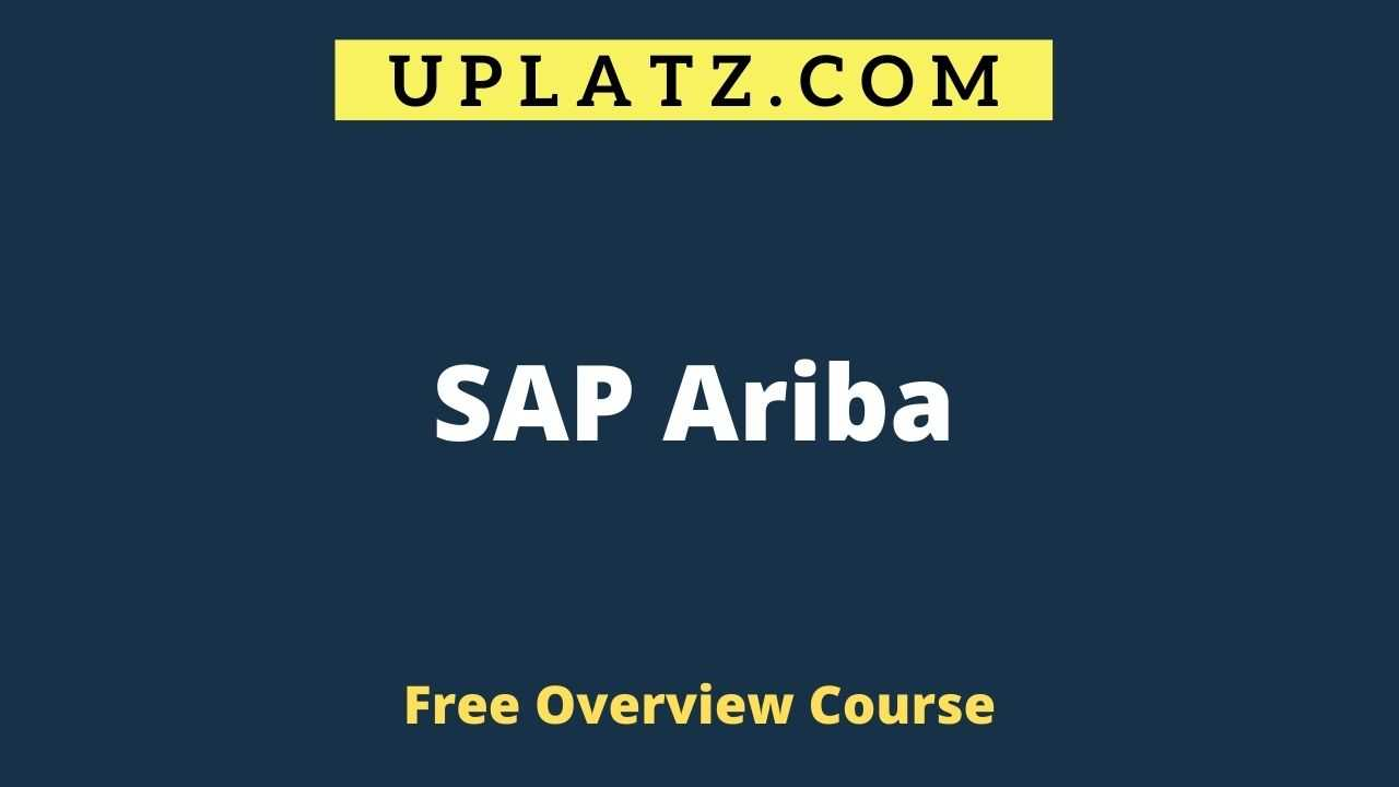 SAP Ariba overview