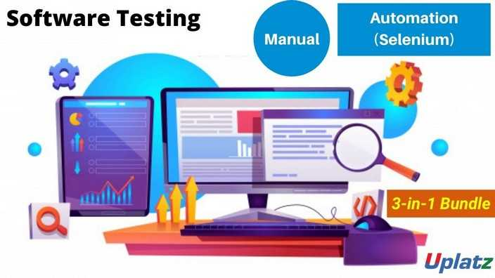 Bundle Combo - Software Testing (Manual and Automation)